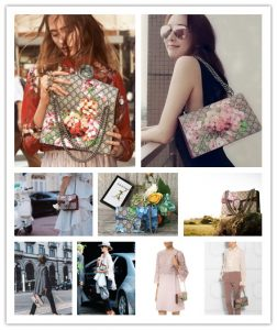 734eff44043 Gucci Dionysus Canvas Embroidery is an ornate model. From the beginning of  the bee embroidery