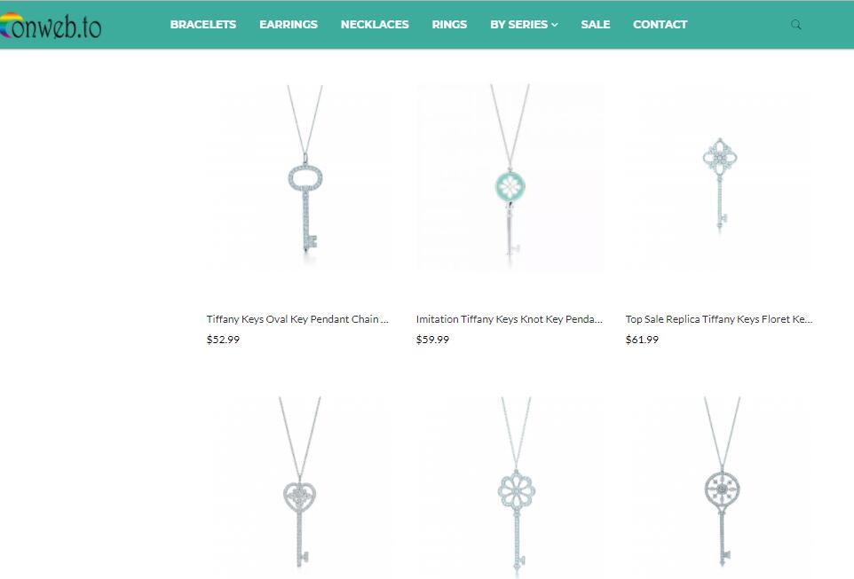 replica tiffany keys sale price