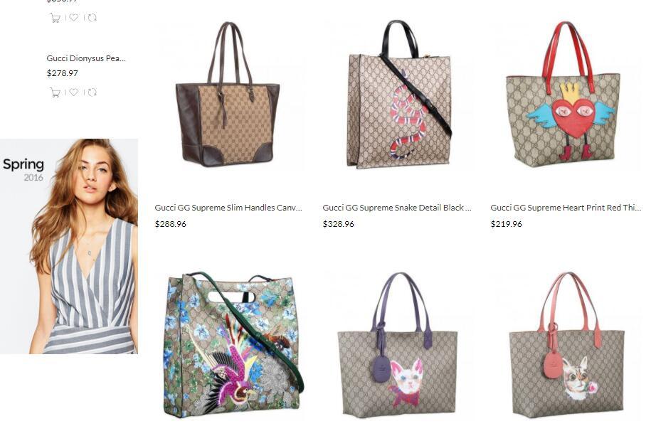 latest replica gucci gg supreme tote bags sale