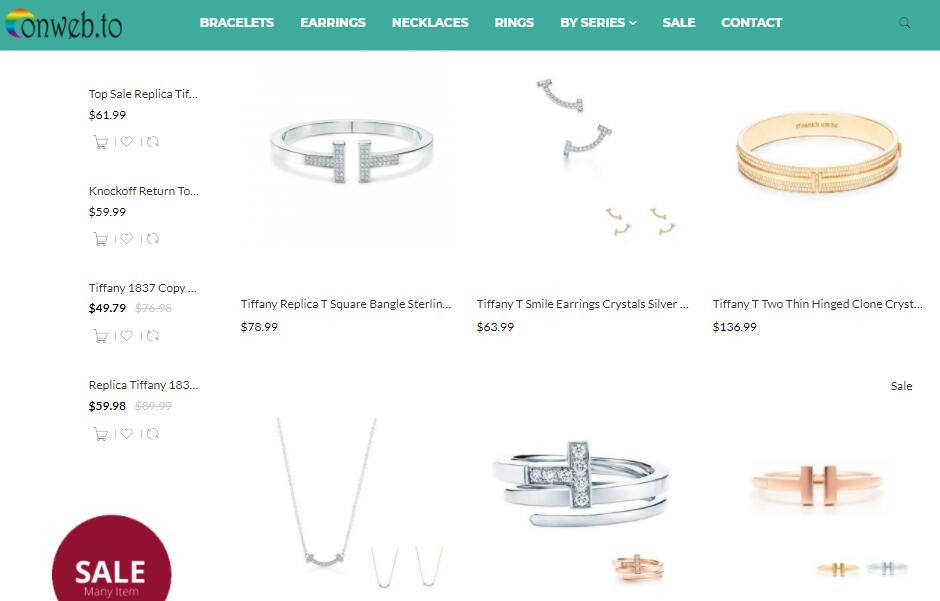 replica tiffany t jewelry sale at onweb.to