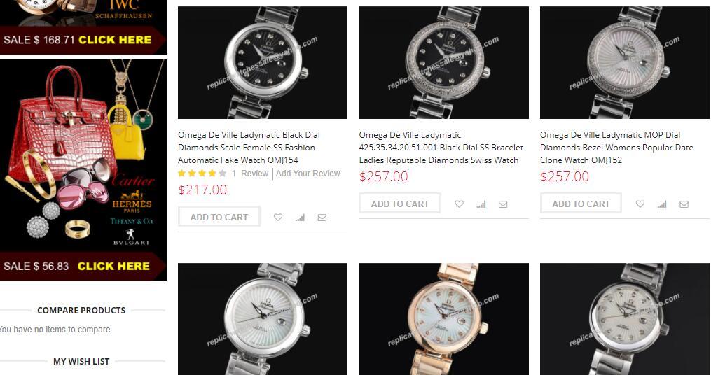 ladies' cheap replica omega watches on sciu.com.au