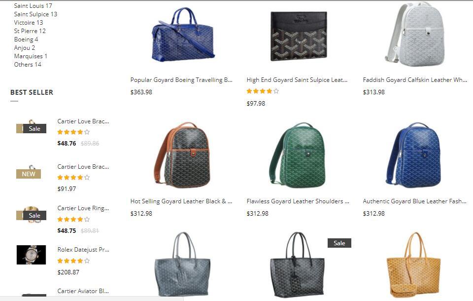 replica goyard bags sale uk